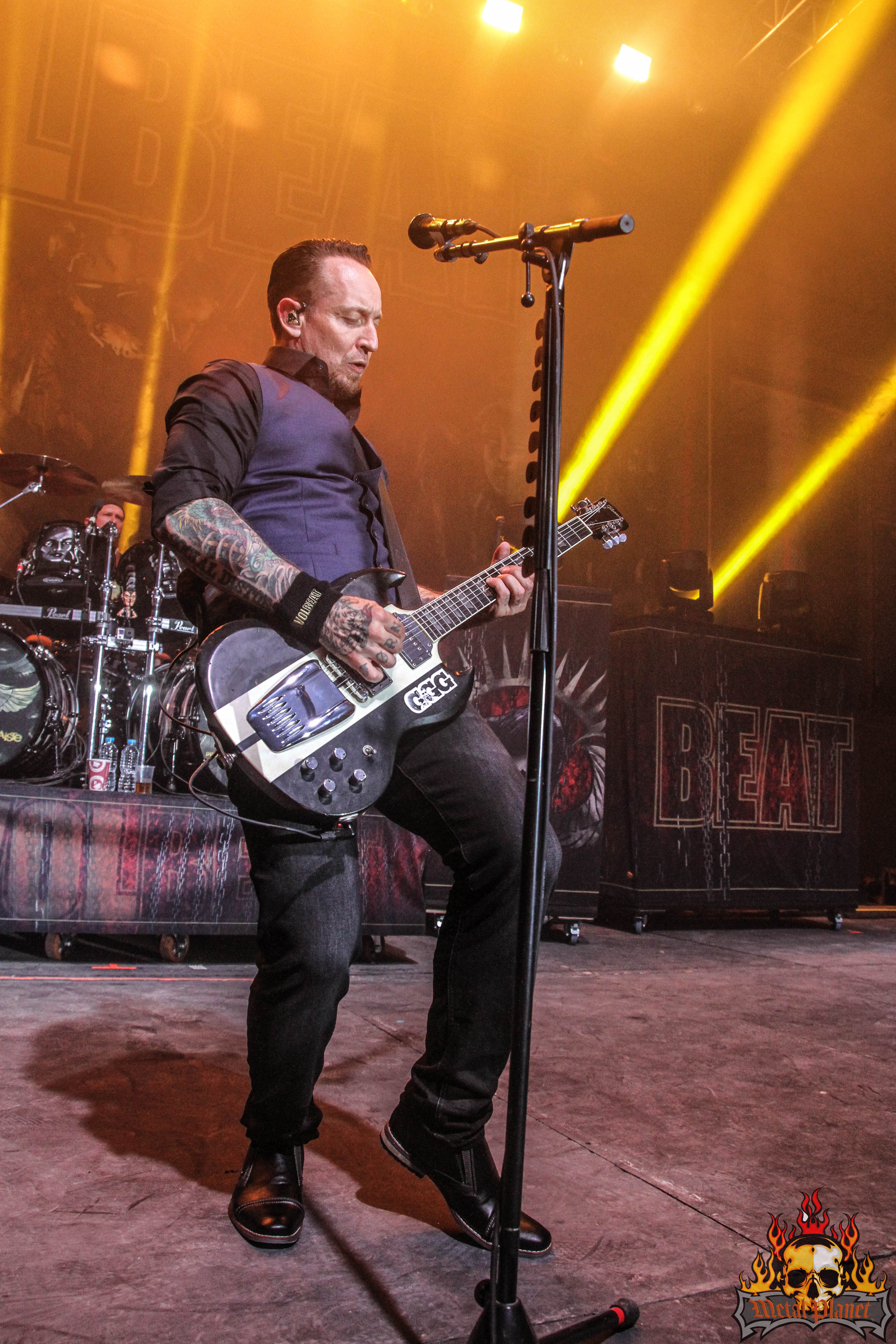 Volbeat at The Telegraph Building. (c) Metal Planet Music